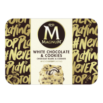 PNG - Magnum White Chocolate & Cookies 90ml 4MP