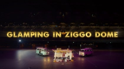 glamping in ziggo dome