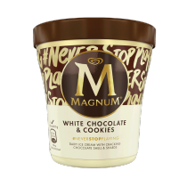 Magnum POT White Chocolate & Cookies