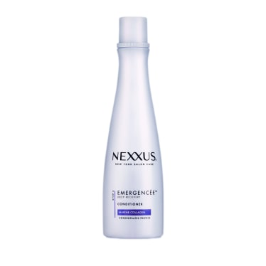 Front of conditioner pack Mexxus Emergencée Conditioner for Damaged hair 250ml