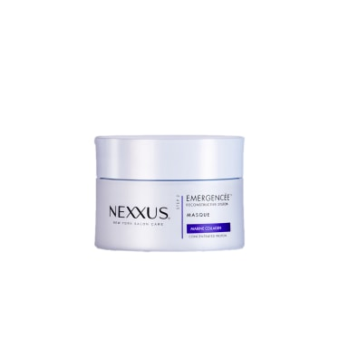Front of masque pack Nexxus Emergencée Masque For Damaged Hair 190ml