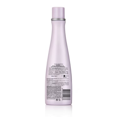 Back of shampoo pack Nexxus Youth Renewal Shampoo for Fine Hair 250ml