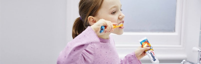 Caring for baby teeth