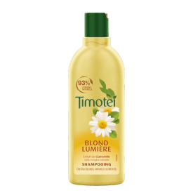 Voorkant van shampoo Timotei Golden Highlights Shampoo 300ml