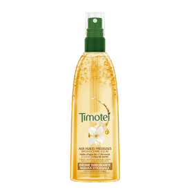 Avant de l'emballage styling Timotei Precious Oils Aquaspray 150ml