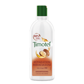 Avant de l'emballage shampooing Timotei Miraculous Repair Shampoo 300ml