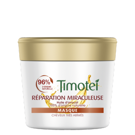 Avant de l'emballage masque Timotei Miraculous Repair Mask 250 ml