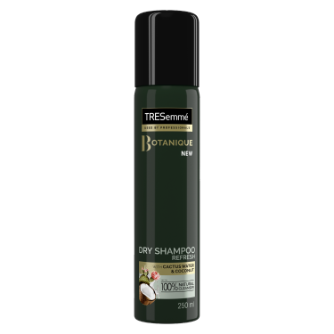 A 250ml can of TRESemme Botanique Dry Shampoo