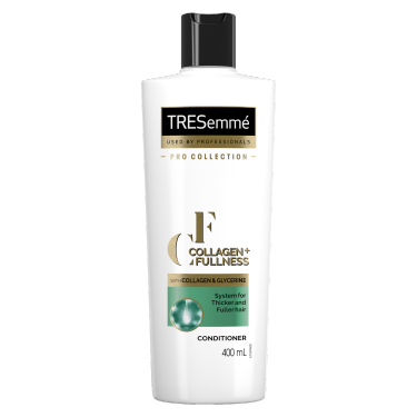 Front of TRESemmé Collagen + Fullness Balsam 400ml