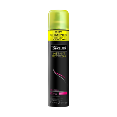 A 250ml bottle of TRESemmé Volumising Dry Shampoo front of pack image